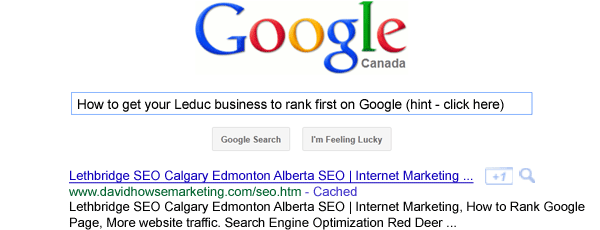 leduc seo marketing company edmonton